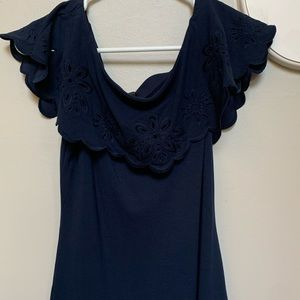 Ann Taylor Off-the-Shoulder Tank Top
